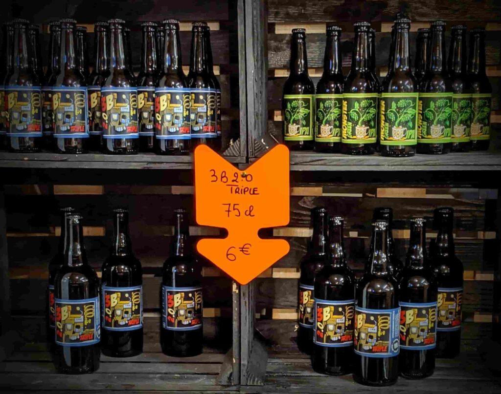 Nos bières brasserie de montluc Nantes