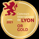 Médaille or Lyon 2021